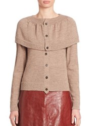 A Detacher Wool Popover Sweater Oyster
