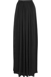 Needle And Thread Pandora Satin Maxi Skirt Black