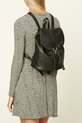 Forever 21 Tasseled Faux Leather Backpack
