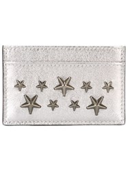 Jimmy Choo 'Dean' Card Holder Metallic