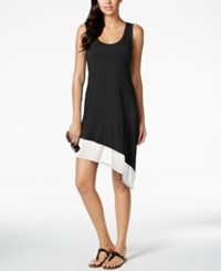 Calvin Klein Asymmetrical Tank Dress Cover Up Women's Swimsuit