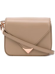 Alexander Wang 'Prisma' Envelope Crossbody Bag Nude And Neutrals