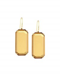 Ippolita Rock Candy Gelato 18K Citrine Drop Earrings Brown