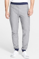 Todd Snyder 'New Runner' Herringbone French Terry Sweatpants Gray