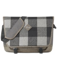 Solo Nomad 15.6 Messenger Gray Tan