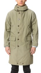 Chimala Us Military Reversible Mountain Parka Khaki Green