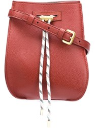 Maiyet 'Sia' Cross Body Bag Red