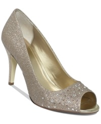 Style And Co. Monaee Pumps Women's Shoes Gold