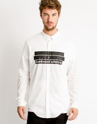 Cheap Monday Odd Shirt Awkward Silence White