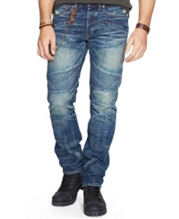 Denim And Supply Ralph Lauren Alamo Slim Fit Moto Jeans
