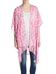 Saks Fifth Avenue Tie Dyed Shawl