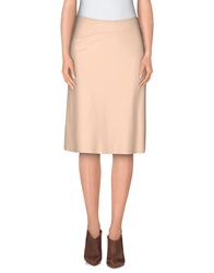1 One Knee Length Skirts Sand