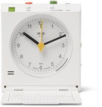 Braun Reflex Control Travel Alarm Clock White