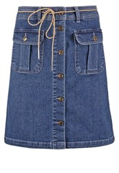 Only Onlfarrah Denim Skirt Medium Blue Denim