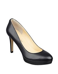 Ivanka Trump Kimo Leather Pumps Black