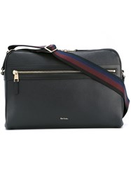 Paul Smith Zipped Shoulder Bag Black
