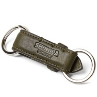 Shinola Valet Key Ring Brown