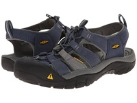 Keen Newport H2 Midnight Navy Neutral Gray Men's Sandals Blue