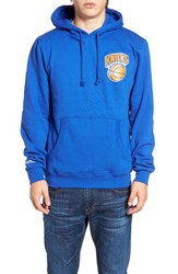 Mitchell And Ness Men's Knicks History Hoodie