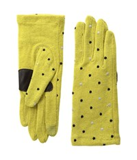 Echo Touch Pop Dot Gloves Pear Extreme Cold Weather Gloves Green