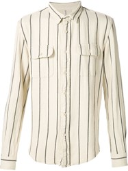 Levi's Vintage Clothing Woven Stripe Shirt Nude And Neutrals