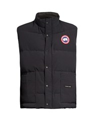 Canada Goose Freestyle Quilted Down Gilet Navy