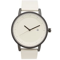 Simple Watch Co. Earl Watch White