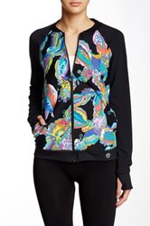 Trina Turk Sea Garden Jacket Multi