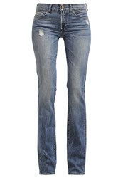 7 For All Mankind Bootcut Jeans Beyond Retro Mid Blue Denim
