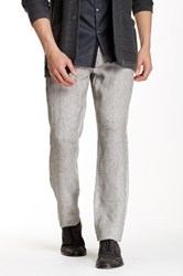Star Usa By John Varvatos Authentic Fit Linen Jean Gray