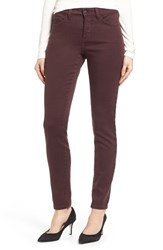 Nydj Women's Ami Colored Stretch Super Skinny Jeans Brandy
