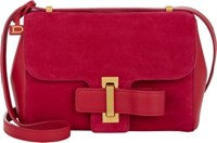 Delvaux Women's Simplissime City Pm Shoulder Bag Red
