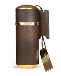 Purse Spray Leather Brown Empty Holds 30 Ml Memo Fragrances