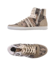 Cult High Tops And Trainers Beige