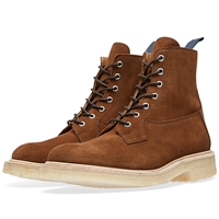 Trickers End. X Tricker's Crepe Sole Super Boot Snuff Repello Suede