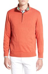 Men's Toscano Quarter Zip Sweater