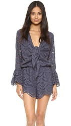 Ministry Of Style Wilderness Romper Blue Nights