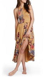 Women's Free People 'Season In The Sun' Floral Print Slipdress