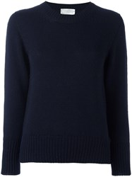 Zanone Round Neck Jumper Blue