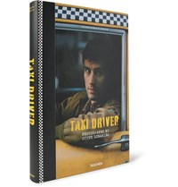 Taschen Taxi Driver Hardcover Book Black