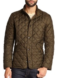 Barbour Flyweight Quilted Jacket Olive