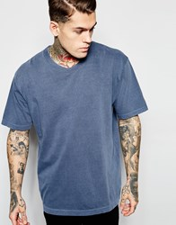 American Apparel Washed Boxy T Shirt Washedbluette