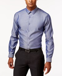 Inc International Concepts Men's Blake Long Sleeve Non Iron Shirt Only At Macy's Light Blue