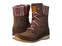Salomon Hime Mid Absolute Brown X Absolute Brown X Light Grey Women's Shoes