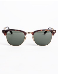 Ray Ban Sunglasses Iconic Folding Polarized Clubmaster