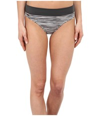 Lole Mojito Bottoms Black Stripe Women's Swimwear