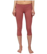 Hot Chillys Geo Pro Bottom Rose Heather Women's Casual Pants Brown