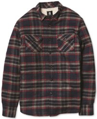 Element Outback Plaid Long Sleeve Button Down Shirt