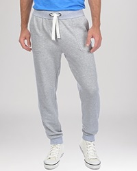 2Xist 2 X Ist Banded Ankle Terry Sweatpants Light Grey Heather