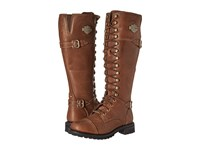 Harley Davidson Beechwood Brown Women's Lace Up Boots